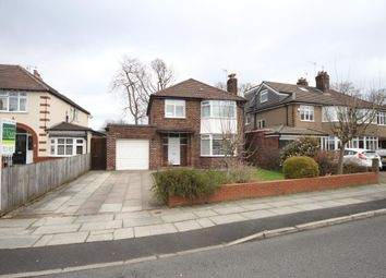 Thumbnail 3 bed detached house to rent in Ingledene Road, Calderstones, Liverpool