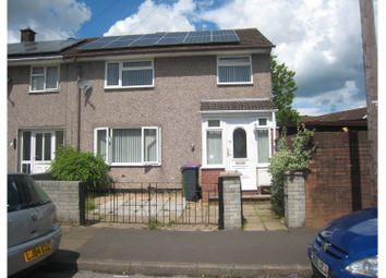 Thumbnail 3 bed terraced house for sale in Fields Road, Cwmbran