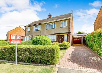 Thumbnail 3 bedroom semi-detached house for sale in Rawley Crescent, Duston, Northampton, Na