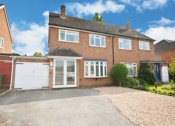 Thumbnail 3 bed semi-detached house for sale in Milton Road, Bentley Heath, Solihull