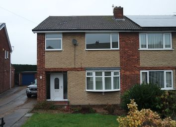 Thumbnail 1 bed semi-detached house to rent in Clayfield View, Mexborough