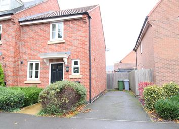 Thumbnail 2 bed end terrace house for sale in Pach Way, Fernwood, Newark