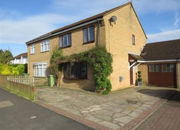 Thumbnail 4 bed semi-detached house for sale in Wordsworth Avenue, Newport Pagnell