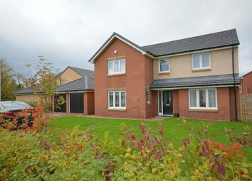 Thumbnail 4 bed detached house for sale in Glentanar Crescent, Dumbarton
