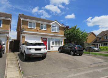Thumbnail 4 bed detached house for sale in Tiffany Gardens, East Hunsbury, Northampton