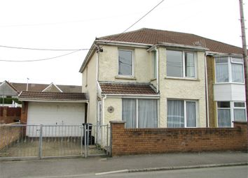 Thumbnail 3 bedroom semi-detached house for sale in Godfrey Avenue, Glynneath, Neath, West Glamorgan