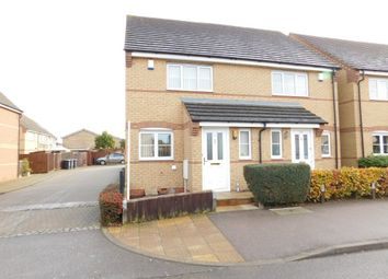 Thumbnail 2 bedroom end terrace house for sale in Regent Street, Stotfold, Hitchin