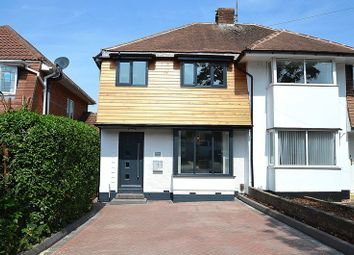 Thumbnail 3 bed semi-detached house for sale in Yarningale Road, Kings Heath, Birmingham.