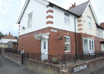 Thumbnail 2 bed end terrace house to rent in Edmund Street, Mold, Flintshire