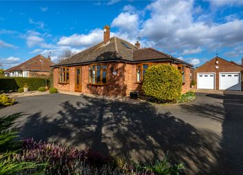Thumbnail 3 bed detached bungalow for sale in Leasingham Lane, Ruskington, Sleaford, Lincolnshire