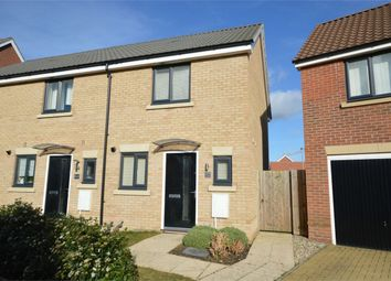 Thumbnail 2 bed end terrace house for sale in Peter Pulling Drive, Costessey, Norwich