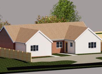Thumbnail 2 bedroom detached bungalow for sale in Elmsett, Ipswich, Suffolk