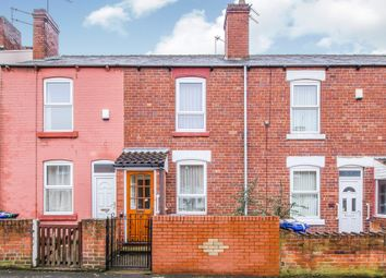 Thumbnail 2 bed terraced house for sale in St Johns Road, Balby, Doncaster