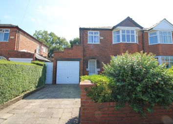 Thumbnail 3 bed semi-detached house for sale in Beechwood Avenue, Urmston