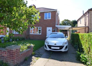 Thumbnail 3 bed semi-detached house for sale in Highfield Road, North Thoresby, Grimsby