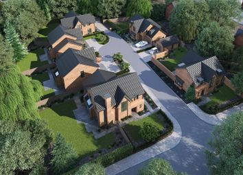 Thumbnail 4 bed detached house for sale in Middlewich Road, Holmes Chapel, Crewe