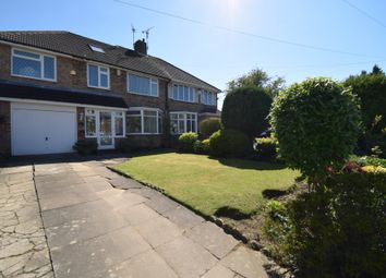 Thumbnail 4 bed semi-detached house for sale in Englefield Road, Evington, Leicester