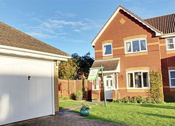 Thumbnail 3 bedroom semi-detached house for sale in Lindeth Close, Huntingdon