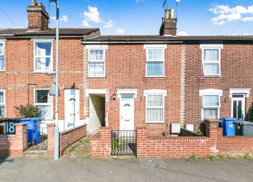 Thumbnail 2 bedroom terraced house for sale in Brunswick Road, Ipswich