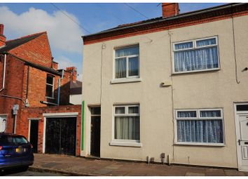 Thumbnail 2 bedroom end terrace house for sale in Browning Street, Leicester