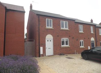 Thumbnail 3 bed semi-detached house to rent in David Way, Bishopton, Stratford-Upon-Avon