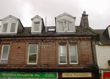 Thumbnail 1 bed flat to rent in Primrose Street, Alloa