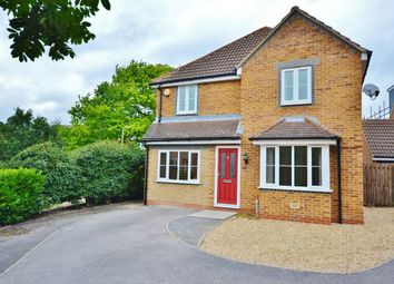 Thumbnail 4 bedroom detached house for sale in Orwell Drive, Didcot