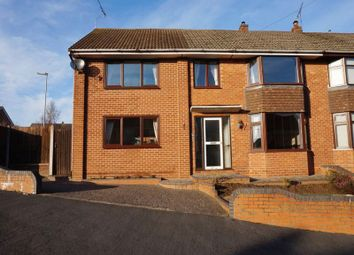Thumbnail 4 bed semi-detached house for sale in Trent Road, Forsbrook, Stoke-On-Trent, Staffordshire