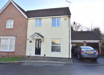 Thumbnail 4 bed semi-detached house for sale in Hyde Close, Chafford Hundred