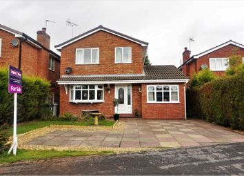 Thumbnail 4 bed detached house for sale in Tewkesbury Close, Middlewich