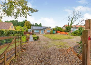 Thumbnail 2 bed detached bungalow for sale in Holt Road, Cromer
