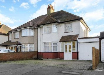 Thumbnail 4 bed semi-detached house for sale in Whitchurch Lane, Canons Park, Edgware