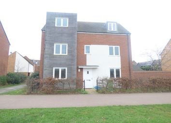 Thumbnail 4 bed property to rent in Newport Road, Broughton, Milton Keynes