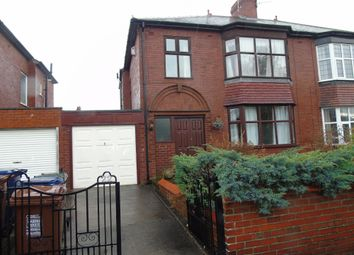 Thumbnail 3 bedroom semi-detached house for sale in Crompton Road, Heaton, Newcastle Upon Tyne