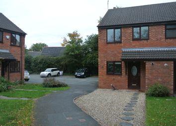 Thumbnail 2 bed end terrace house to rent in Llys Derwen, Higher Kinnerton, Flintshire