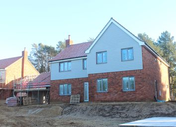 Thumbnail 5 bed detached house for sale in Wormegay Road, Blackborough End, King's Lynn