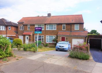 Thumbnail 3 bed semi-detached house to rent in Greystoke Gardens, Enfield