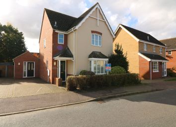 Thumbnail 4 bed detached house for sale in Tudor Avenue, Roydon, Diss