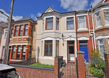 Thumbnail 4 bed terraced house for sale in Large Family House, Morden Road, Newport