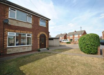 Thumbnail 3 bed semi-detached house for sale in Hyland Crescent, Warmsworth, Doncaster