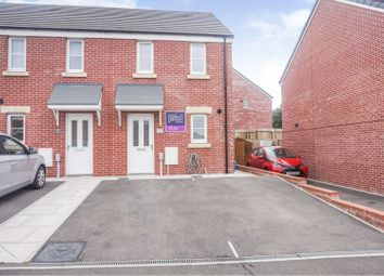 Thumbnail 2 bed semi-detached house for sale in Tal Coed, Bridgend