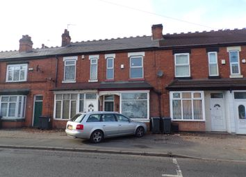 Thumbnail 2 bed terraced house to rent in Fox Hollies Road, Acocks Green, Birmingham