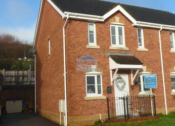 Thumbnail 3 bed property for sale in Cwrt Pant Yr Awel, Lewistown, Bridgend.