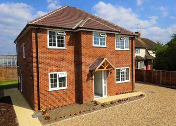 Thumbnail 4 bed detached house for sale in Hollybush Lane, Eversley, Hook