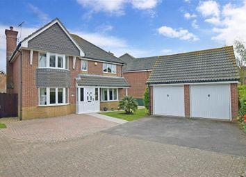 Thumbnail 4 bed detached house for sale in Linnet Close, Littlehampton, West Sussex