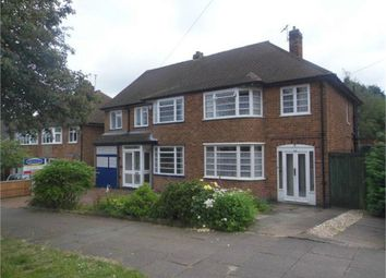 Thumbnail 3 bedroom semi-detached house for sale in Letchworth Road, Leicester