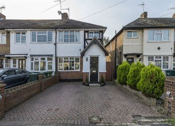 Thumbnail 3 bed end terrace house for sale in Gaston Way, Shepperton