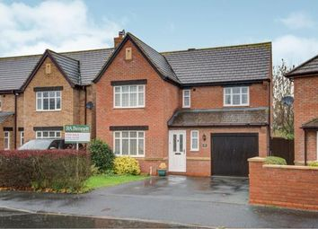Thumbnail 4 bed detached house for sale in Stephenson Way, Honeybourne, Evesham