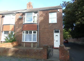 Thumbnail 3 bed flat to rent in Salisbury Avenue, North Shields