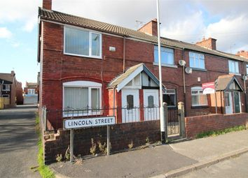 Thumbnail 2 bed end terrace house for sale in Lincoln Street, Maltby, Rotherham, South Yorkshire, UK